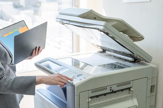 オフィスに必須の複合機